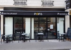 Restaurant et pizzeria Pop's - Paris