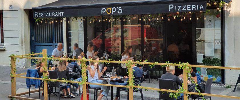 Pop's Paris Extérieur Terrasse