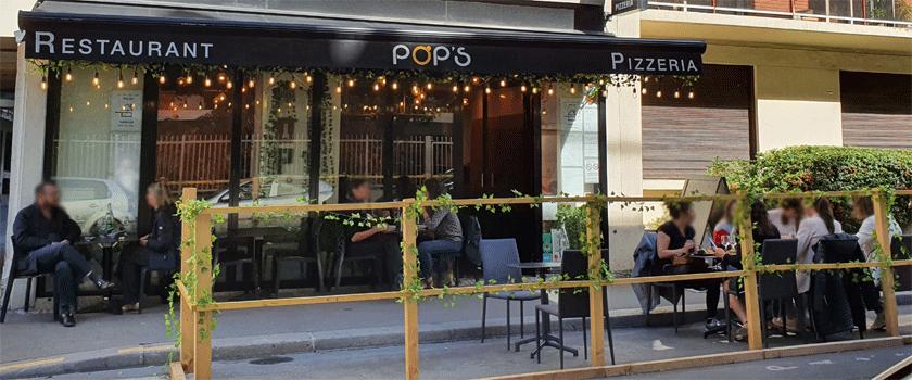Pop's Paris extérieur