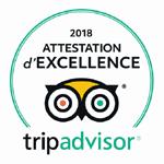 Pop's Certificat Tripadvisor 2018