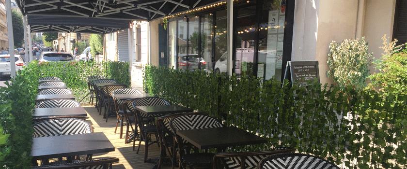 Pop's Restaurant Terrasse