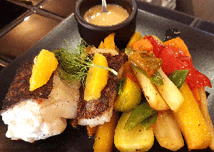 Pêche du jour du restaurant et pizzeria Pop's - Paris