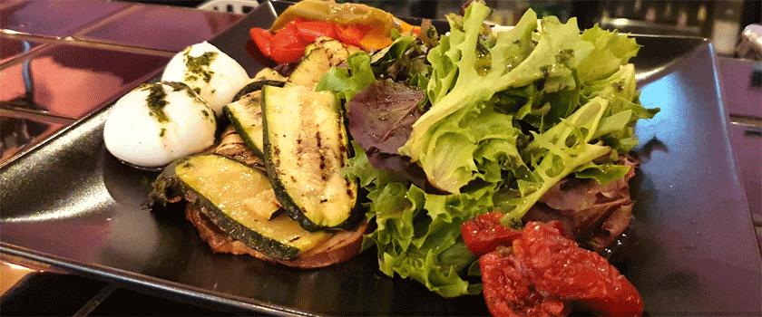 Pop's Paris Assiette végétarienne